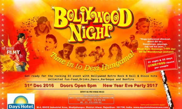 india new year themes bollywood themed new year eve 2017 party delhi