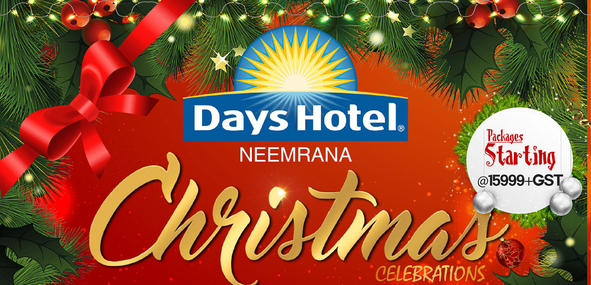 christmas 2017 hotel offer days hotel neemrana - Christmas Packages
